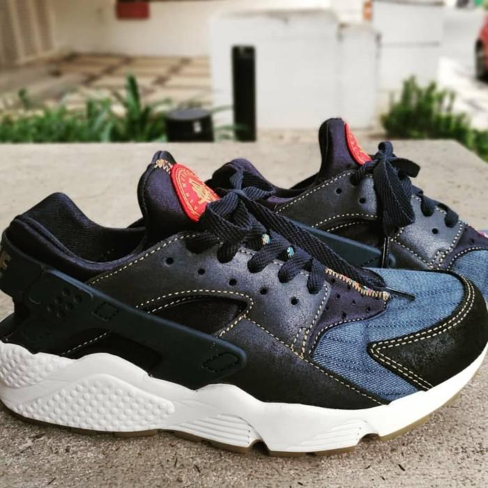 6c713acf5c08 Jual Sneakers NIKE HUARACHE DENIM AFRO PUNK ORIGINAL UNDER RETAIL ...