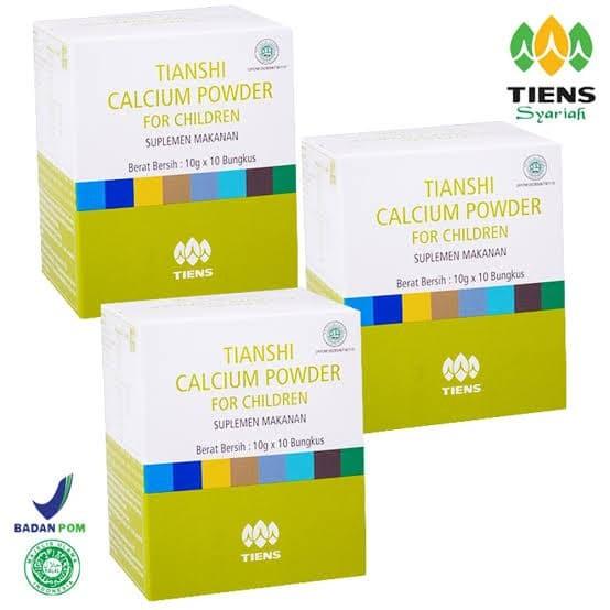 Foto Produk [PAKET RESELLER] Calcium Anak For Children Tiens Tianshi 3 Box Segel dari Gudang Tiens