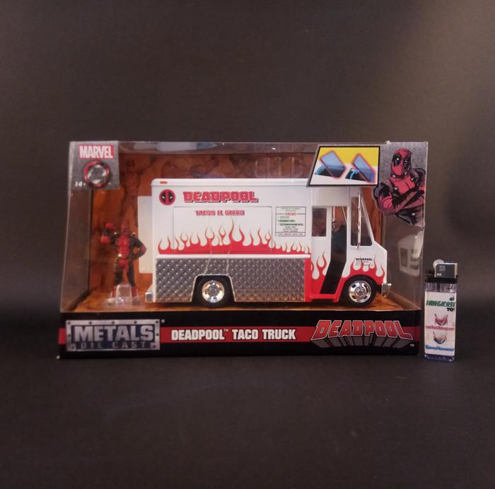 harga Mainan deadpool taco truck - skala 24 - jada marvel diecast-miniatur Tokopedia.com
