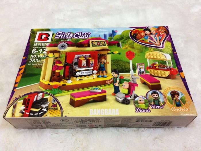Jual Brick Lego Friends Girls Club Bootleg 1032 Stage Show Street 263pcs Kota Bekasi Bangbara Tokopedia