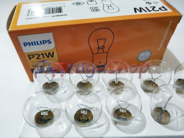 Foto Produk Lampu P21W - Sein / Riting / Mundur Philips dari Seraya Shop