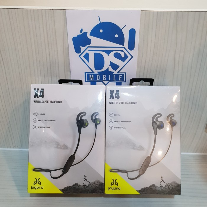 harga Jaybird x4 sport wireless in-ear bluetooth headphones Tokopedia.com