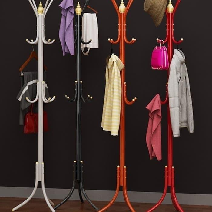 Multifunction Standing Hanger / Gantungan Baju Modern / Stand Hanger