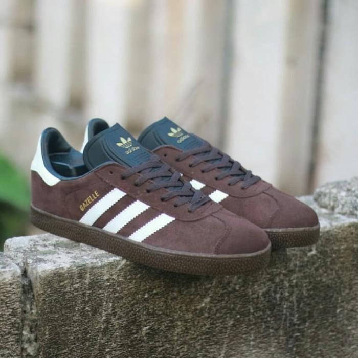Jual Sepatu Adidas Gazelle II Choco white sol gum Original BNWB ... b1860b1a37