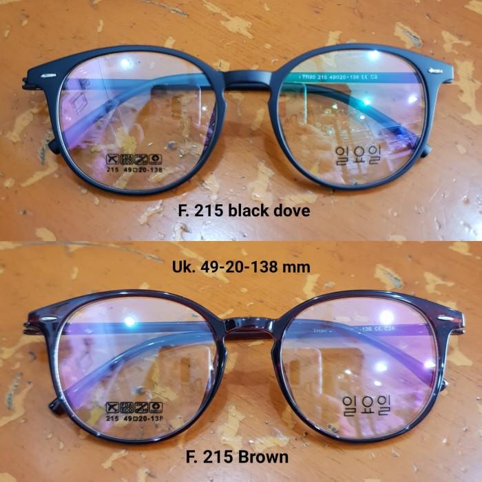 Jual Kacamata Anti Radiasi Frame Bulat Lensa normal 7a0b8ad08d
