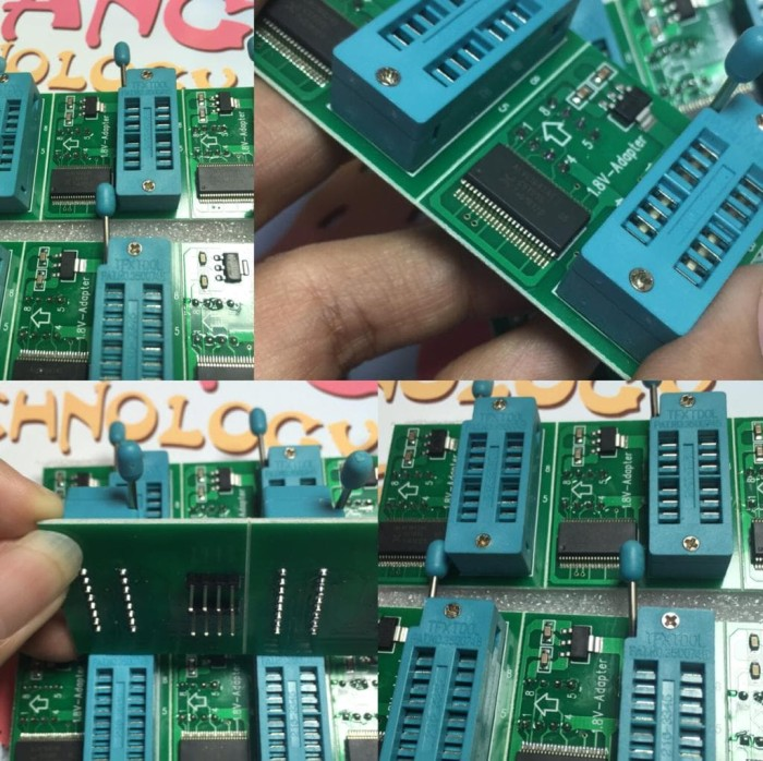 Jual ORIGINAL!!! ADAPTER CONVERTER 1 8V 1,8 V EZP 2010 RT809 CH341A -  ORIGINAL - DKI Jakarta - ZCW technology | Tokopedia