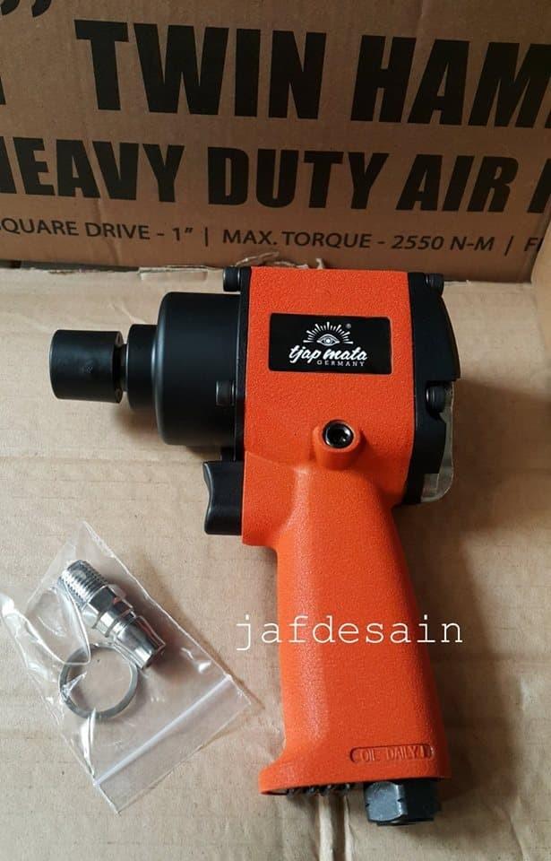 Eye brand air impact wrench mini 1/2 twin hammer tjap mata germany ...