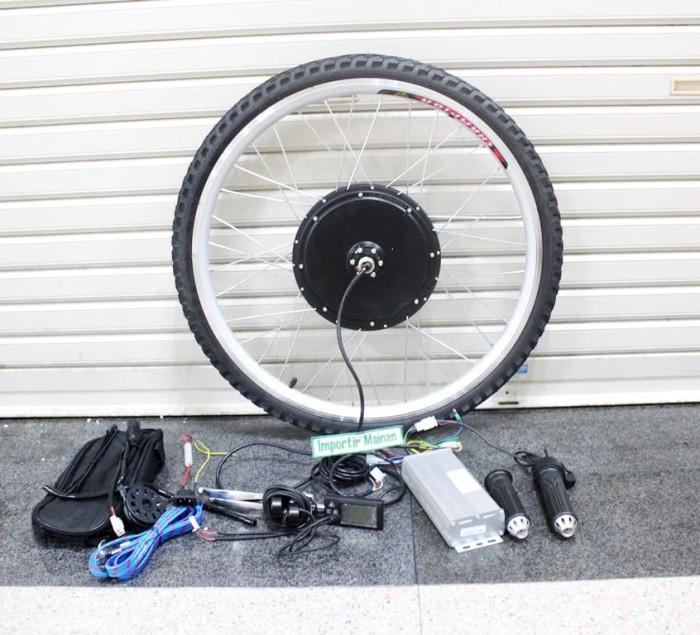 harga KIT dinamo sepeda listrik 48V 1000W ban 26 x 1.75 sepeda gunung MTB 26 Tokopedia.com