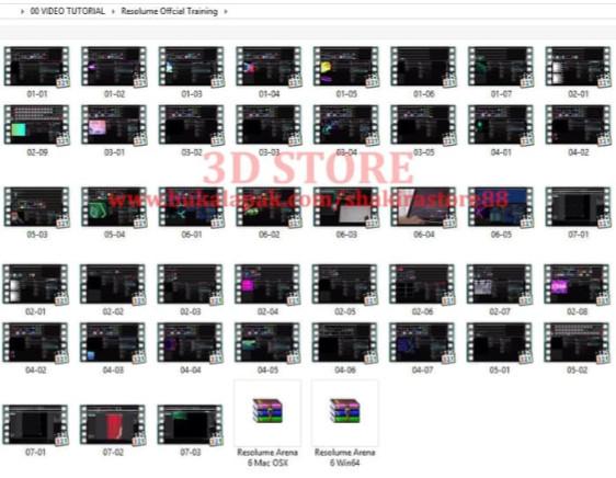 Jual Resolume Arena 6 Win & Mac Plus Official Video Tutorial - Onyxs shop |  Tokopedia