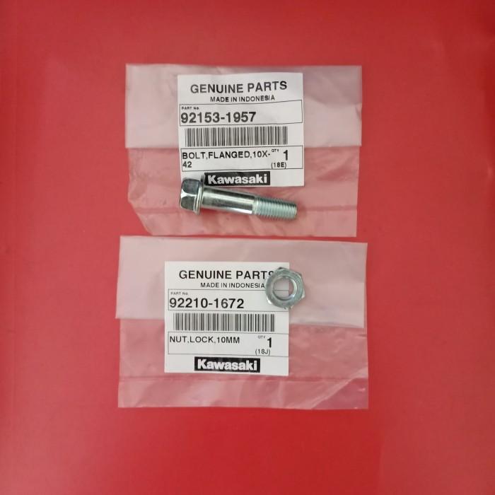harga Mur baut monoshock klx 150 ukuran 10x42 original kawasaki Tokopedia.com