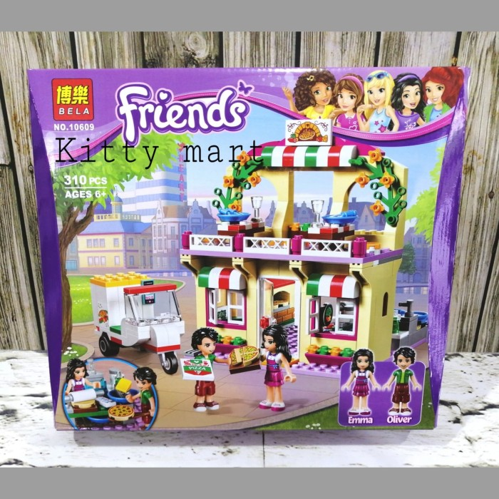 Jual Mainan Anak Lego Friends Sy880 Brick Lego Friends Pizza Emma