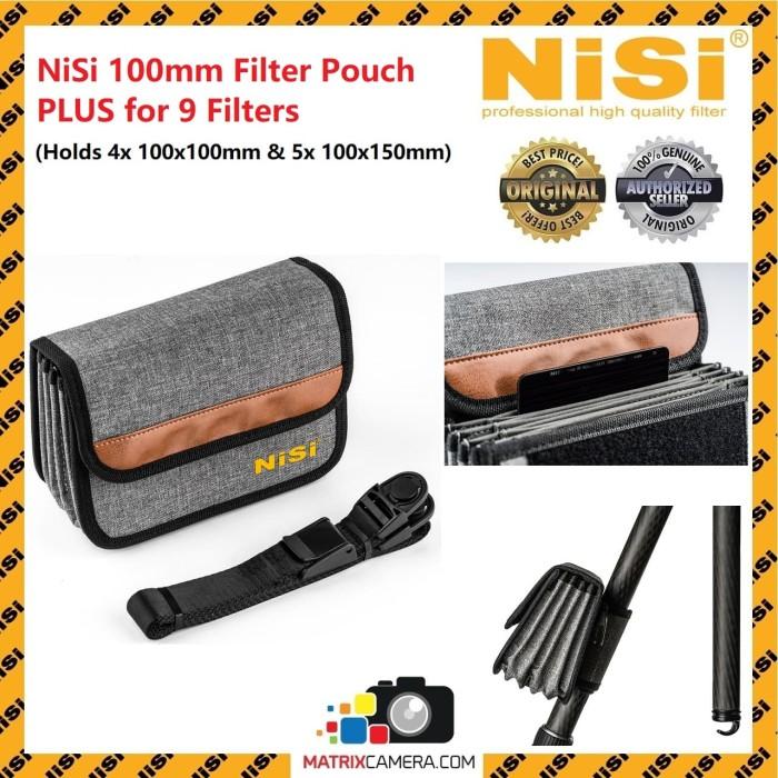Foto Produk NiSi 100mm Pouch PLUS for 9 Square Filters dari MatrixCamera