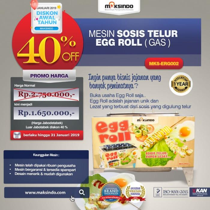 Mesin sosis telur maksindo type mks-erg002