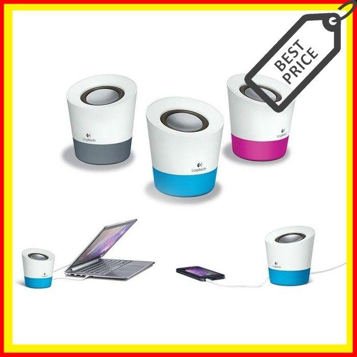 34581128994 Jual Speaker Logitech Z50 Speaker Gray Magenta Ocean Blue - HF ...