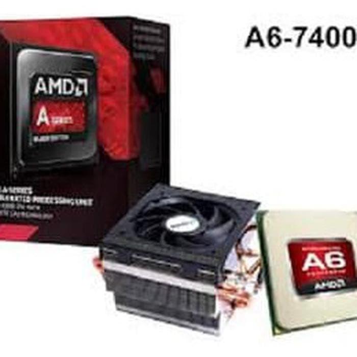AMD Kaveri A6-7400K (Radeon R4 series) 3.5Ghz Cache 2x1MB 65W Socket