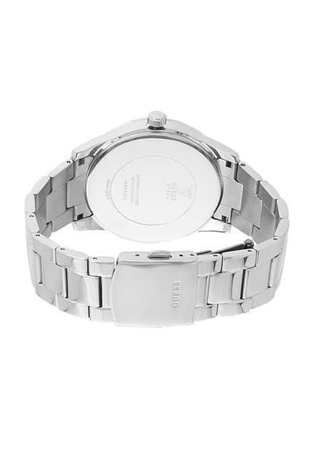 GUESS W0901G1 Perry - Jam Tangan Pria - Silver