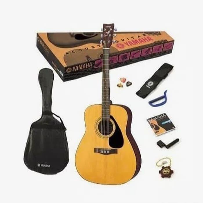 harga Yamaha gitar akustik f310p / f310 p / f 310 paket lengkap! Tokopedia.com