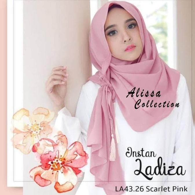 Jual Termurah Hijab Instant Amira Instan Pasmina Instan Scarlet Kota Bandung Elle Outlet Tokopedia