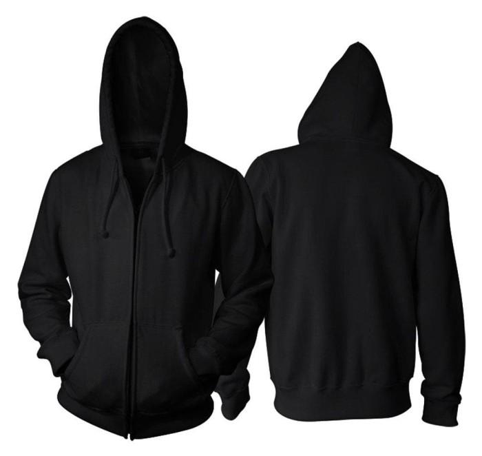 Jual Terbaru Jaket Polos Hoodie Zipper Hitam Jakarta Pusat Santi Widjaja Tokopedia