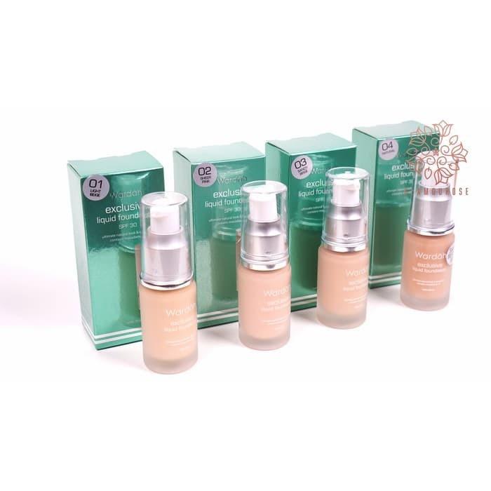 Kosmetik Wardah Exclusive Liquid Foundation 20 ml Limited