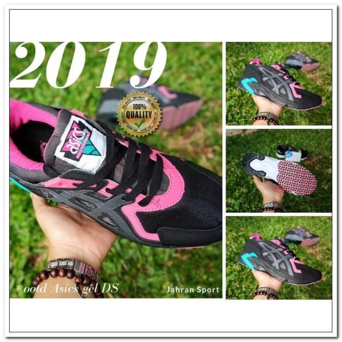 Sepatu Asics gel DS trainer   Sepatu Olahraga   Warna Hitam Pink Biru 34afffeaac