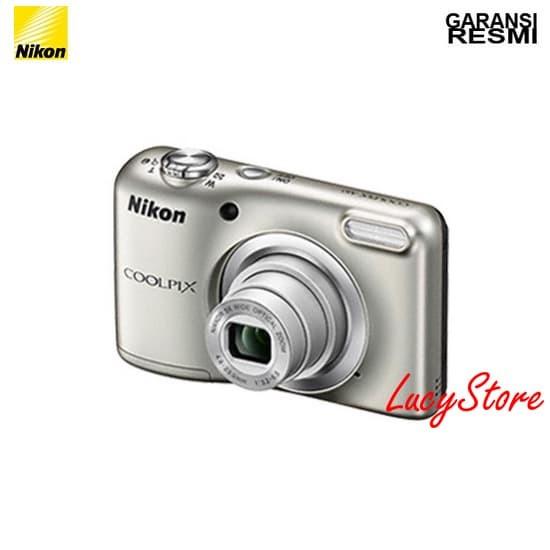 Jual Nikon Coolpix A10 Silver    Kamera Pocket Garansi Resmi ... 1d29740aae