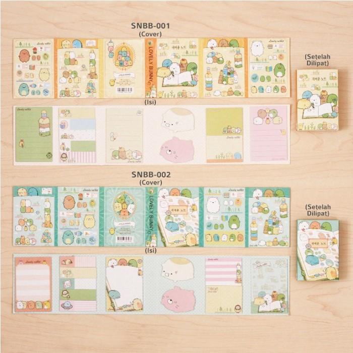 Home; Lovely Bunny - Sticky Notes Buku Besar/ Memo It / Stick It/