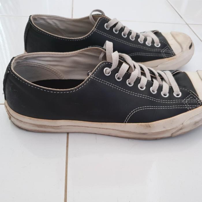 562ac02defdf Jual Sepatu Converse Jack Purcell Ox Black Japan Edition Size 43 (28 ...