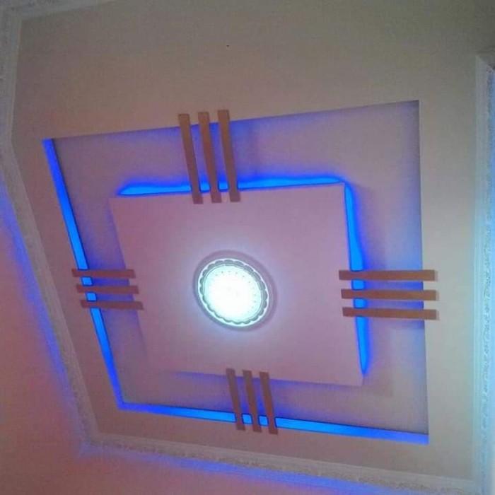 Contoh Gambar Plafon Gypsum Kamar Tidur  jual plafon gypsum minimalis design interior interior rumah jasa kab magetan derista jaya gypsum tokopedia