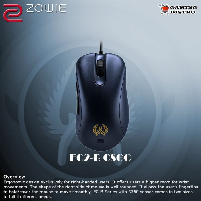 Foto Produk Mouse Gaming Zowie BenQ EC2-B CSGO dari Gaming Distro