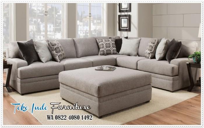 Jual Kursi Sofa Ruang Tamu Mewah Minimalis Elegan Hitam Kab