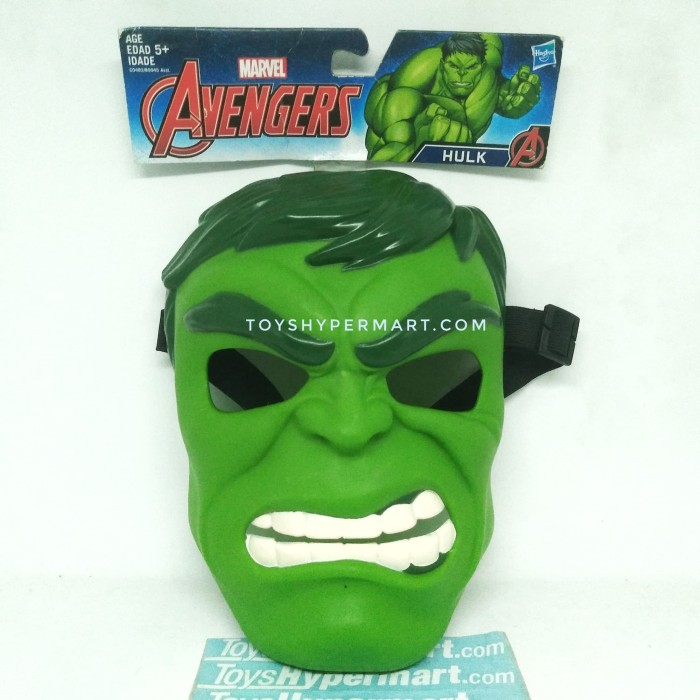 Foto Produk ORI Avengers Marvel Hulk Mask Cosplay Superhero dari TOYS HYPERMART