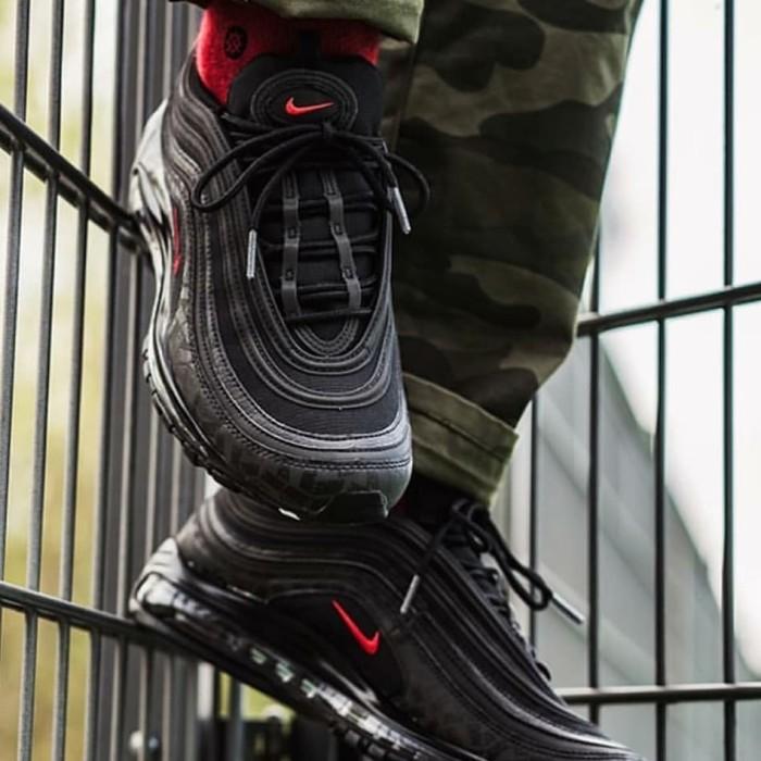 online store 9d440 1209b Jual Nike Air Max 97 Coreblack Infrared - Kota Administrasi Jakarta Utara -  Marqces Fashion | Tokopedia