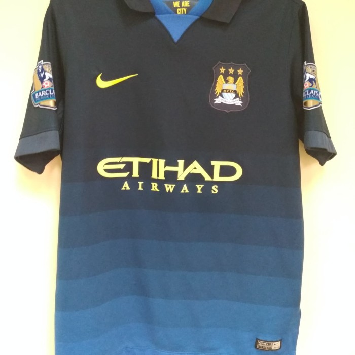 sports shoes f1c16 8dbd0 Jual Jersey Original Manchester City Away 2014-2015 - Kab. Bogor - Arik's  Jersey | Tokopedia