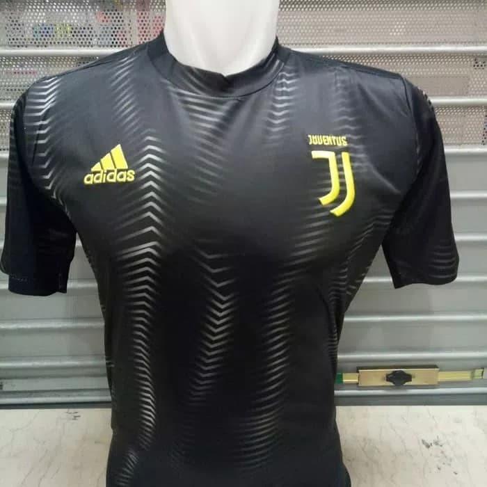 big sale 0bb31 b7193 Jual Jersey Kaos Baju Bola Juve Juventus Training Prematch Home 2018/2019 -  Hitam, S - DKI Jakarta - FCBilham Jersey | Tokopedia