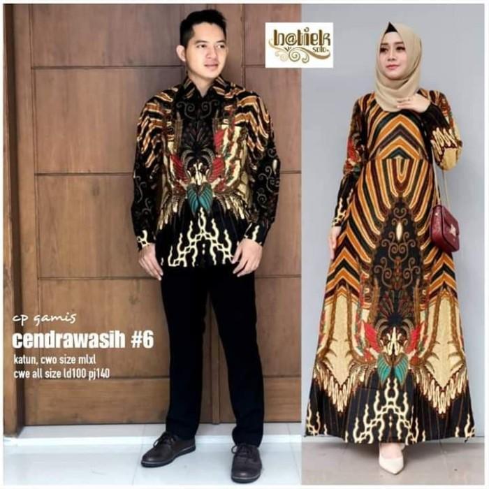 Jual Baju Batik Couple Gamis Terbaru Seragam Keluarga Modern Kota Pekalongan Batik Furry Tokopedia