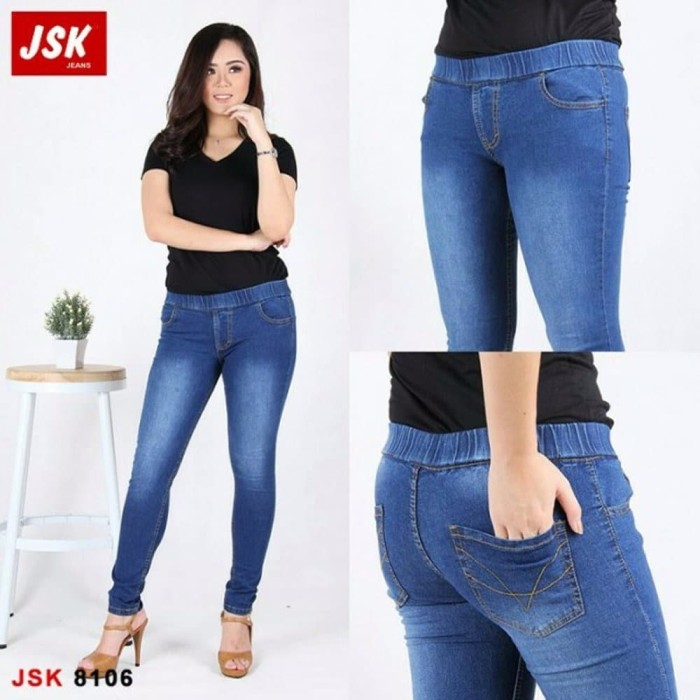 Jual Model Baru Celana Jegging Jeans Legging Wanita Charliescloth 8106 100 Jakarta Barat Gerai Kampoeng Tokopedia