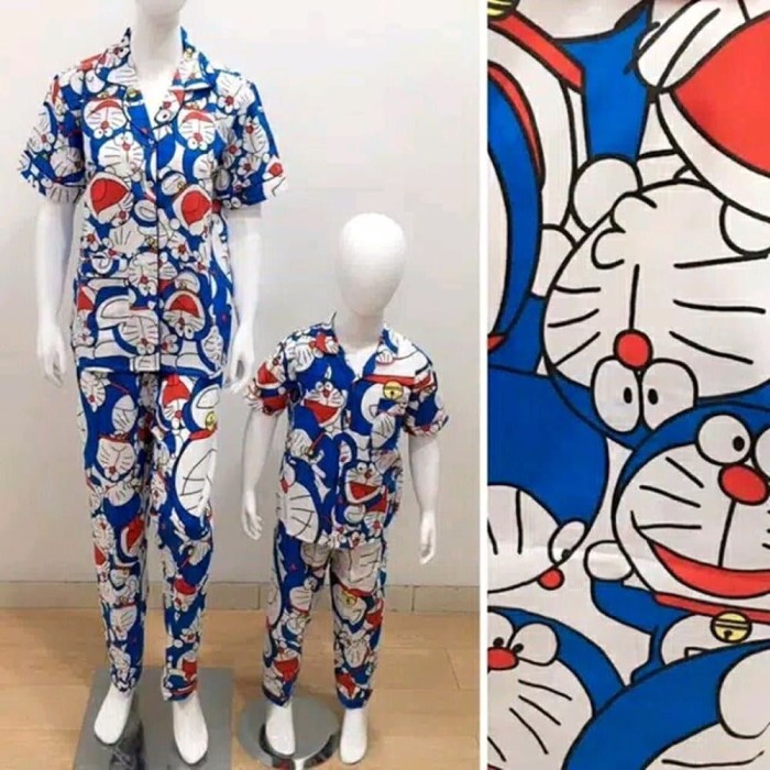 Jual Bestseller Baju Tidur Piyama Doraemon Couple Ibu Dan Anak Baju Tidur Kab Bandung Bina Store99 Tokopedia