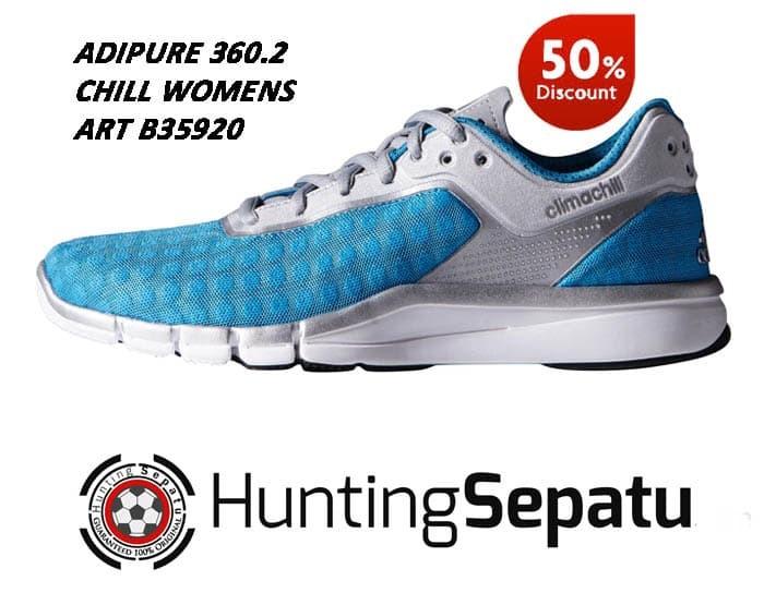 size 40 18884 b897c Sepatu Running Lari Adidas Adipure 360.2 Chill W Blue Original B35920