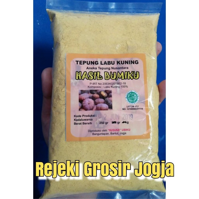 harga Tepung mpasi/tepung organik/tepung labu kuning 250 gram Tokopedia.com