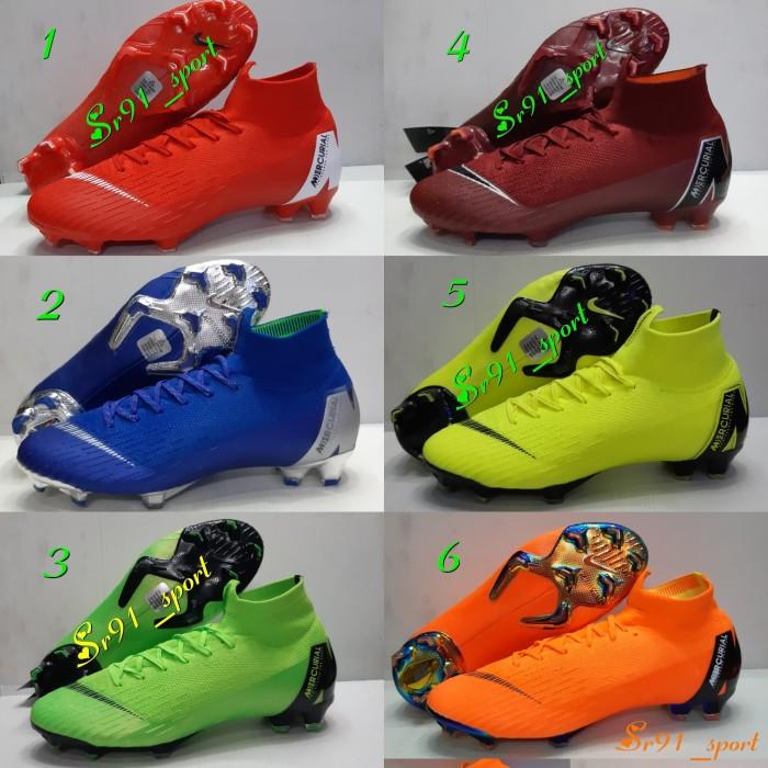48fdd5ef1f7 Jual sepatu futsal nike mercurial superfly multicolor green cek ...