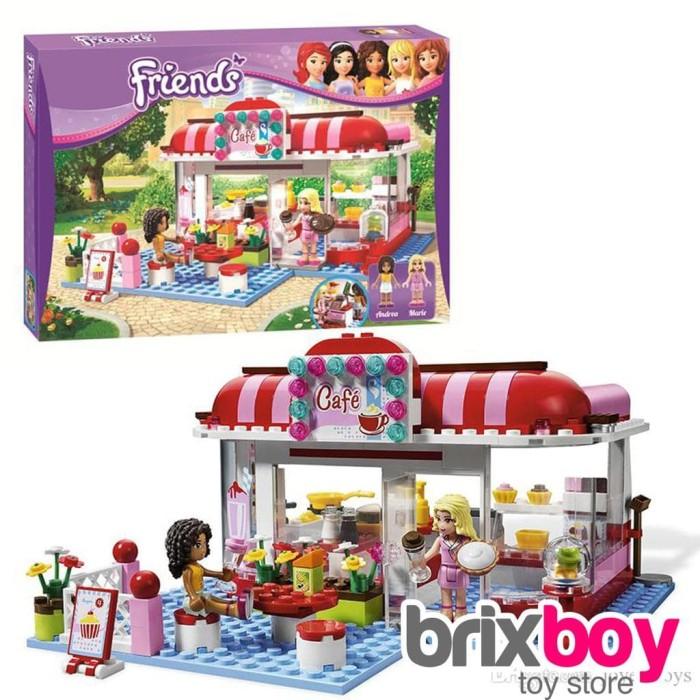 Jual Lego Friends Bela 10162 Friends Heartlake City Cafe 221pcs 3061