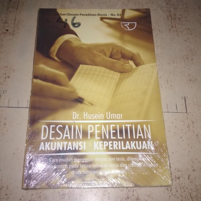 Jual Buku Desain Penelitian Akuntansi Keperilakuan Kota Serang