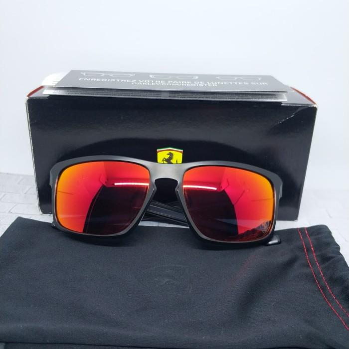 01e86009ef9 Jual Oakley Sunglass Original Scuderia Ferrari edt Sliver ...