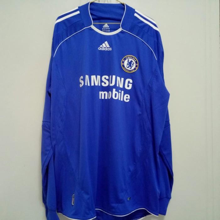 new style 713af 9d27d Jual original jersey chelsea 06/08 home LS - ricoba   Tokopedia