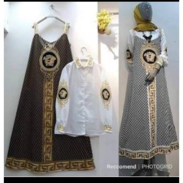 Jual Gamis Overall Versace Original Syahira Murah Greatproduct