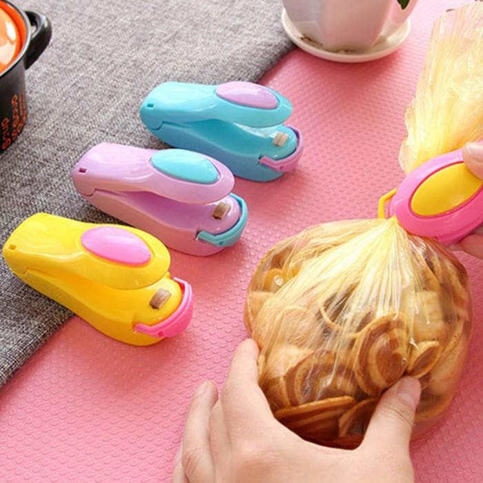 Alat Perekat Plastik Hand Sealer Plastik Mini Seal Perekat Snack Maka