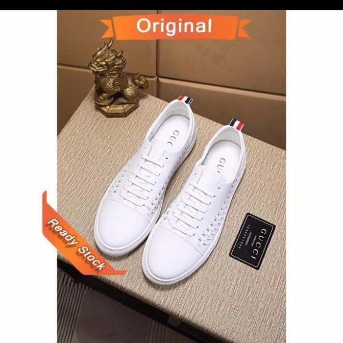 Jual sepatu sneakers gucci original
