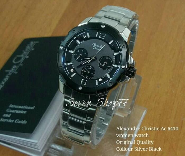 huge selection of 9ea33 4988c Jual NEW JAM TANGAN ALEXANDRE CHRISTIE WANITA AC8028 SILVER WHITE ORIGINAL!  - Kota Bandung - 77 Seven | Tokopedia