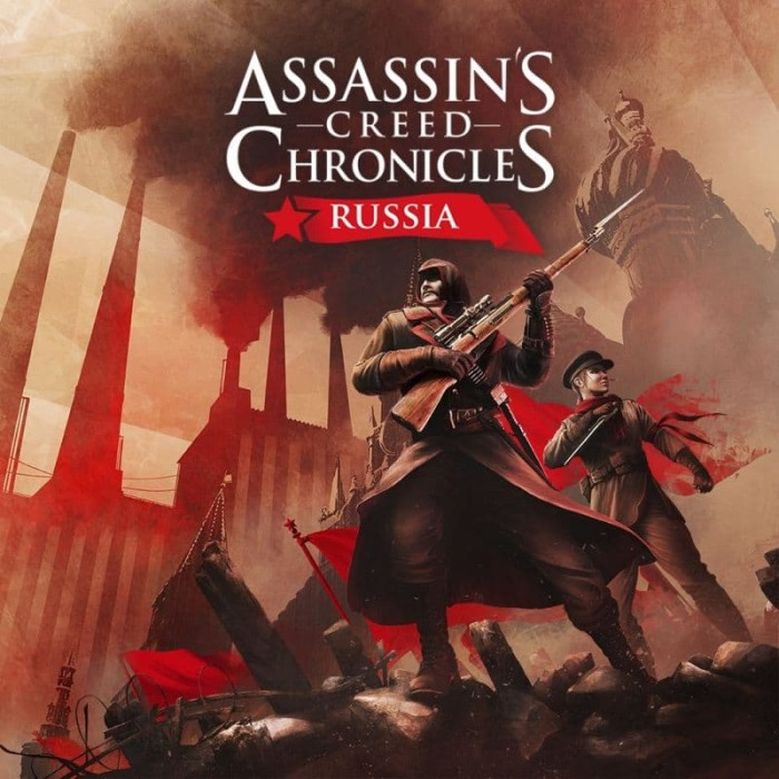 Jual Assassin S Creed Chronicles Russia Pc Games Dvd Kota